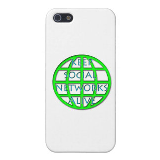 Keep Social Networks Alive Case For iPhone SE/5/5s