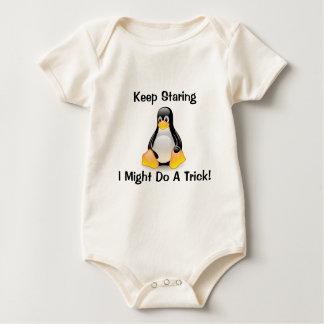 Keep Staring Baby Bodysuit