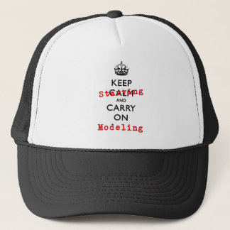KEEP STARVING TRUCKER HAT