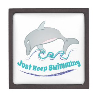 Keep Swimming Gift Box