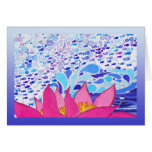 Keep Swimming Lily Fish Greeting Card