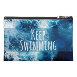 Keep Swimming Ocean Motivational Travel Accessory Bag