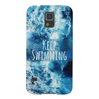 Keep Swimming Ocean Motivational Case For Galaxy S5