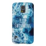 Keep Swimming Ocean Motivational Galaxy S5 Case