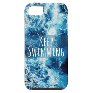 Keep Swimming Ocean Motivational iPhone SE/5/5s Case