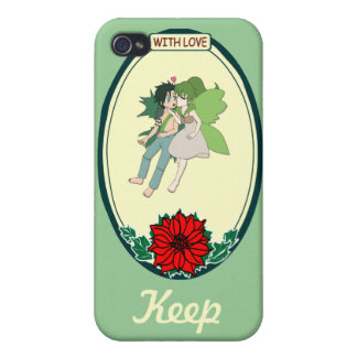 Keep talking - Flying fairies Case For iPhone 4