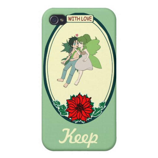 Keep talking - Flying fairies Cases For iPhone 4