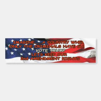 Keep the 2nd Amendment Bumper Sticker