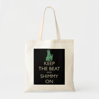 Keep the Beat and Shimmy On  tote