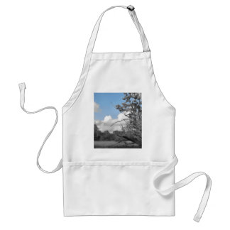 Keep the blue above us aprons