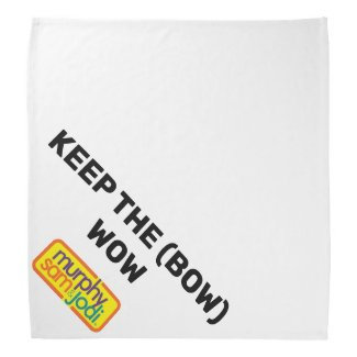 Keep the (Bow) Wow Bandana