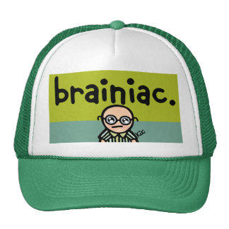 keep the brain cool. trucker hat