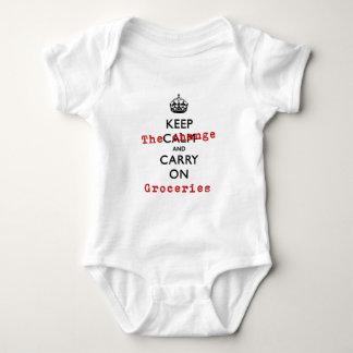 KEEP THE CHANGE BABY BODYSUIT