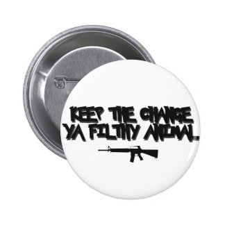 keep the change pinback button