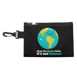 Keep The Earth Clean Accessory Bag