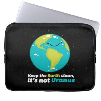 Keep The Earth Clean Computer Sleeve
