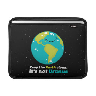 Keep The Earth Clean MacBook Air Sleeve