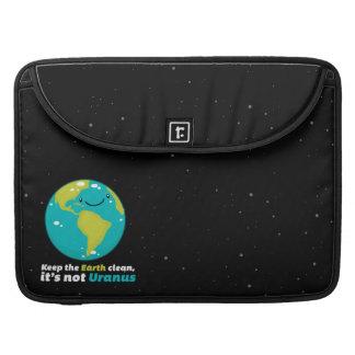 Keep The Earth Clean Sleeve For MacBooks