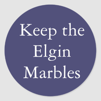 Keep the Elgin Marbles sticker
