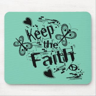 Keep The Faith Graffiti Standard Mouse Pad