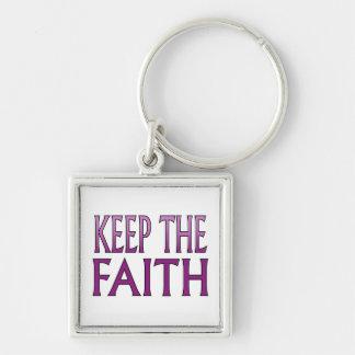 Keep the Faith Keychain