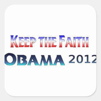 Keep the Faith Obama Sticker