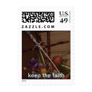 Keep the Faith Stamp