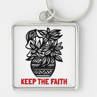 """""""Keep the Faith"""" Premium Keychain"""