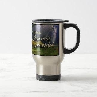Keep the Faith Travel Mug