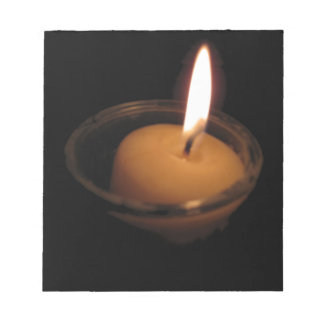 Keep the Flame Burning Candle Notepad