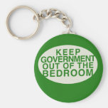 Keep the government out of the bedroom key chains