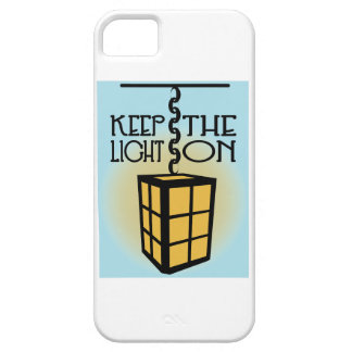 Keep The Light On iPhone 5 Cases