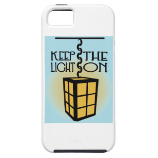 Keep The Light On iPhone 5 Covers