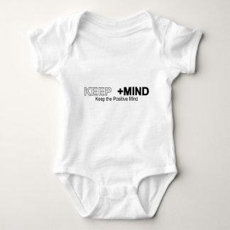 Keep The Positive Mind Baby Bodysuit