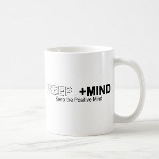 Keep The Positive Mind Mugs