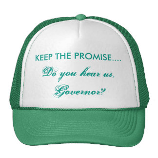 KEEP THE PROMISE Hat/Cap Trucker Hat