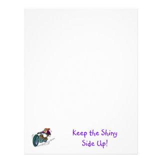 Keep the Shiny Side Up! Letterhead