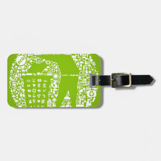 Keep The World Clean Eco Friendly Tag For Bags
