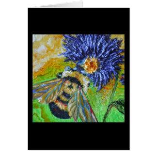 Keep the world sweet Bee Card