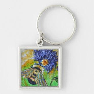 Keep the world sweet Bee Keychain