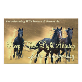 Keep Their Light Shining Poster