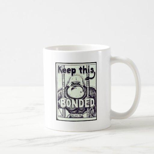 Keep This Bonded Classic White Coffee Mug