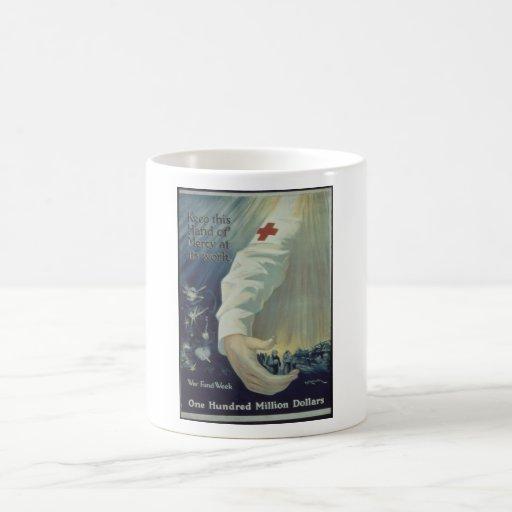 Keep_This_Hand_of_Mercy_Propaganda Poster Coffee Mug