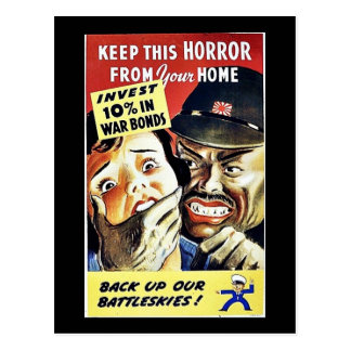 Keep This Horror From Your Home Back Up Our Battl Post Card