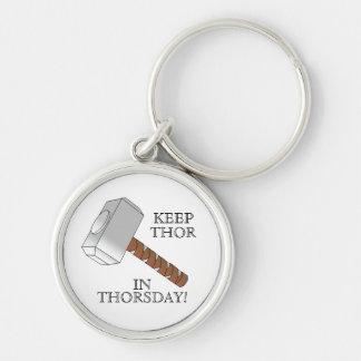 Keep Thor in Thorsday! Keyring