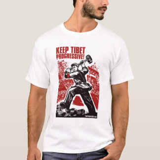 Keep Tibet Progressive! T-Shirt