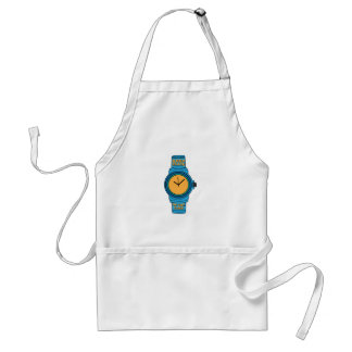 Keep Track of Time Adult Apron