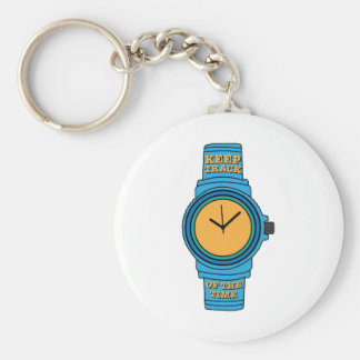 Keep Track of Time Keychains