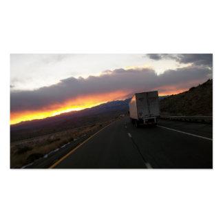 keep Truckin Business Card