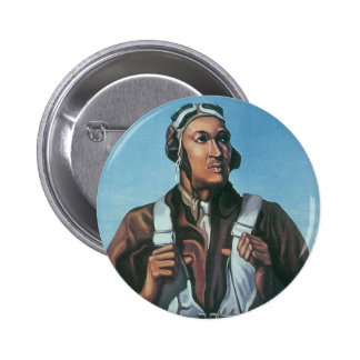 Keep Us Flying ~ Tuskeege Airman Button